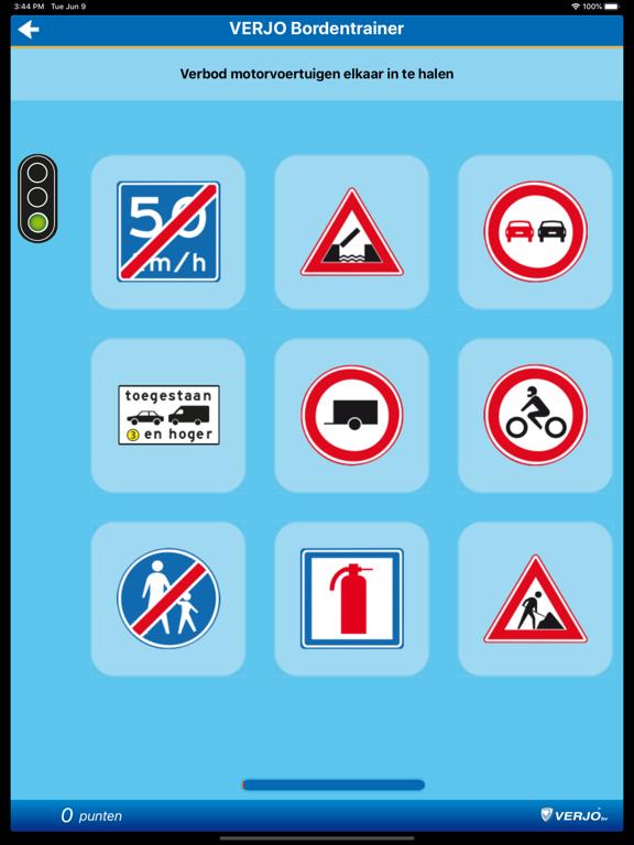 Bordentrainer iPad app afbeelding 4