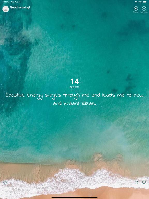 Mantra - Daily Affirmations screenshot