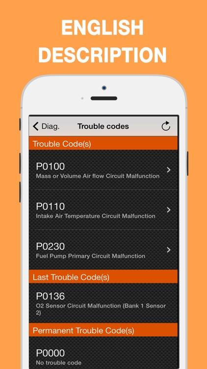 EOBD Facile - Car Diagnostic screenshot-3