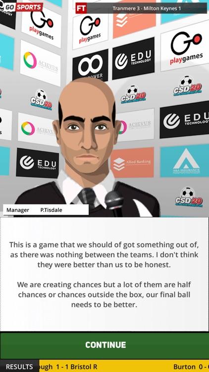Club Soccer Director 2020 screenshot-8