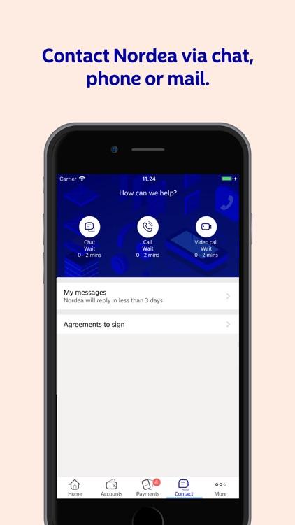 Nordea Mobile - Sweden screenshot-4