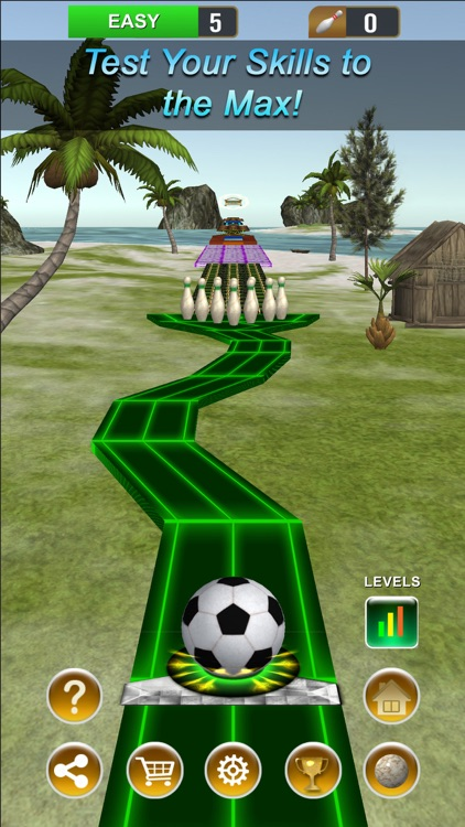 Amazing Bowling Paradise screenshot-3