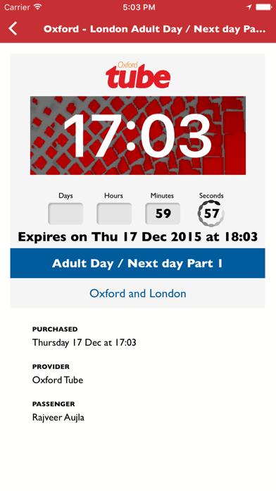 Oxford Tube Mobile Ticket screenshot four