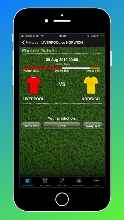 iPredict Football Results screenshot-2
