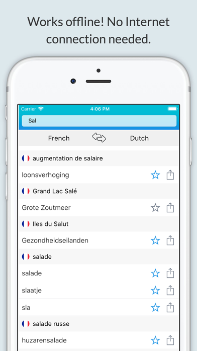 French Dutch Dictionary + screenshot 1
