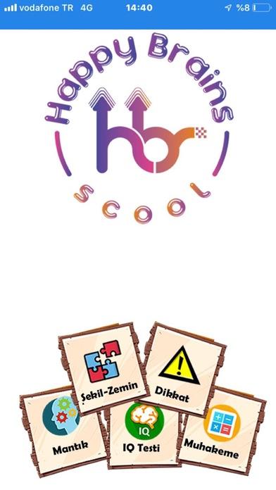 Screenshot of Happy Brains School App