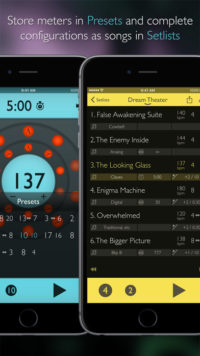 Screenshot for Tempo Advance - Metronome in Czech Republic App Store