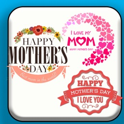 +90 Happy Mother's Day Sticker