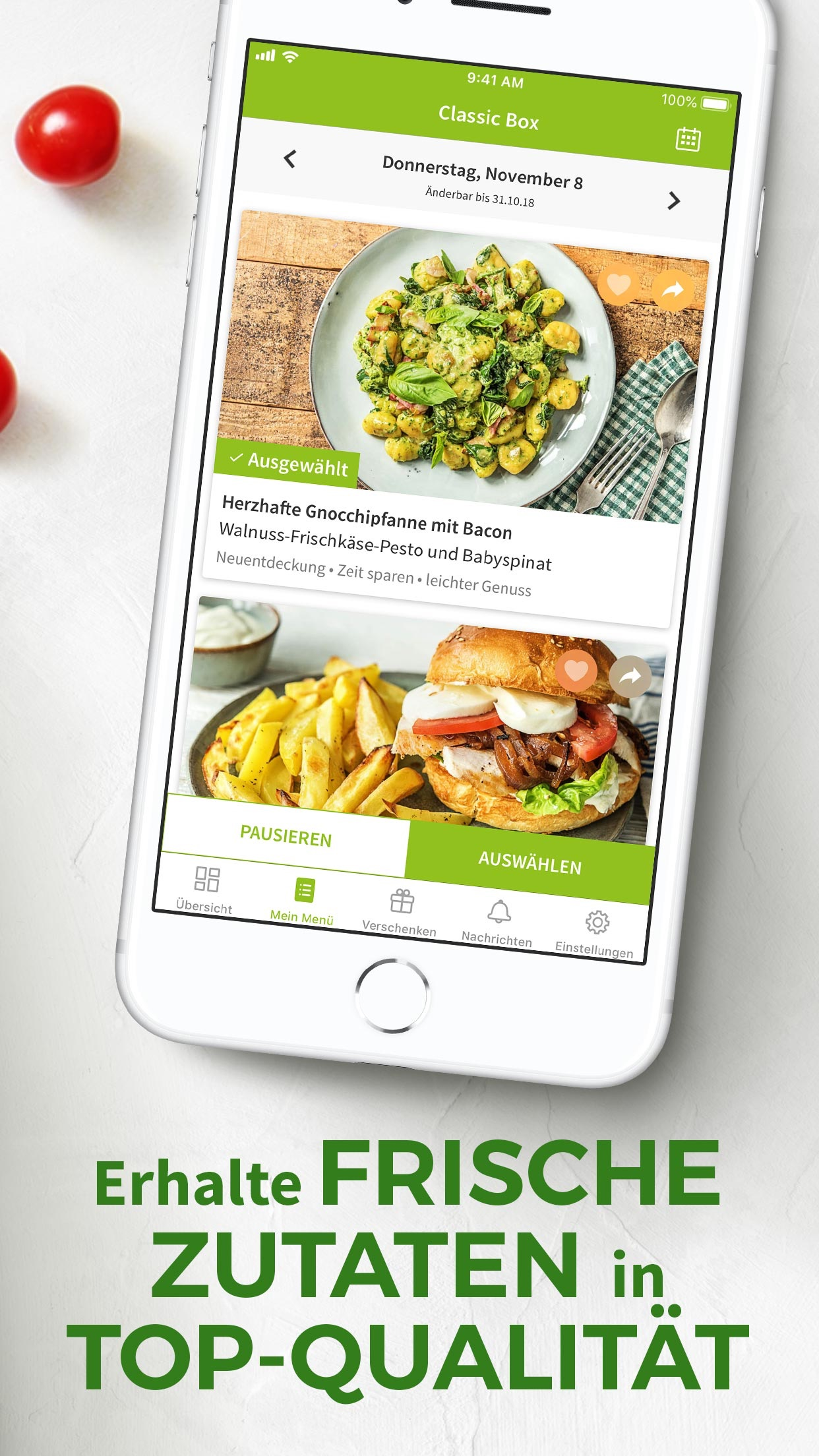 HelloFresh Screenshot