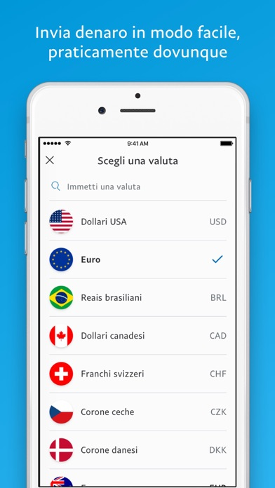 Screenshot for PayPal in Italy App Store