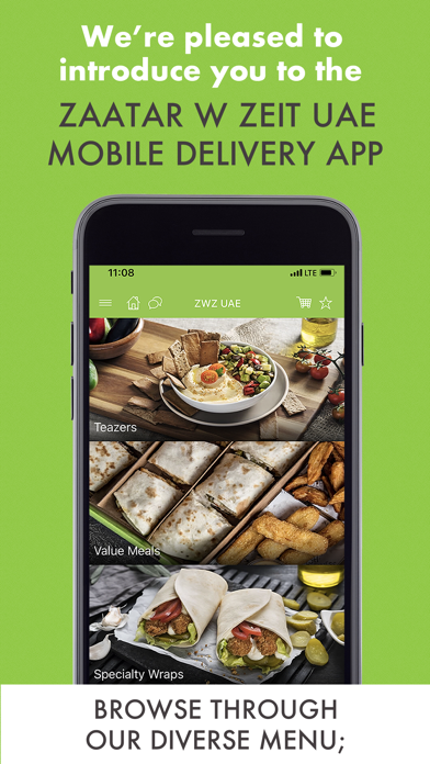 Screenshot for Zaatar w Zeit UAE in Saudi Arabia App Store
