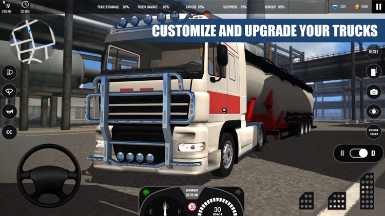 Truck Simulator PRO Europe screenshot-3