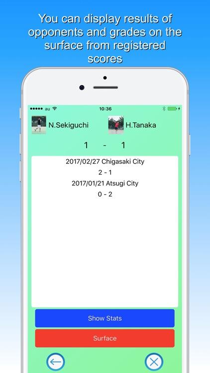 Tennis Score & Card Pro screenshot-3