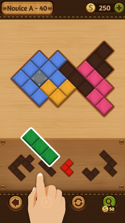 Block Puzzle: Wood Collection screenshot-3