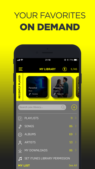 TREBEL Music - Download Songs app image