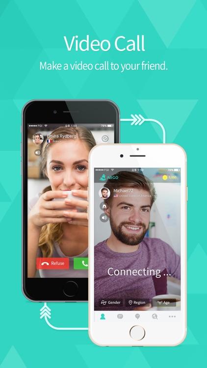ARGO - Social Video Chat screenshot-3