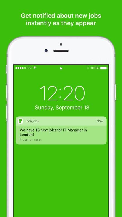 Totaljobs - UK Job Search App screenshot-3