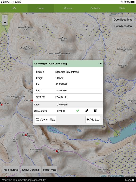 Munro Map screenshot 6