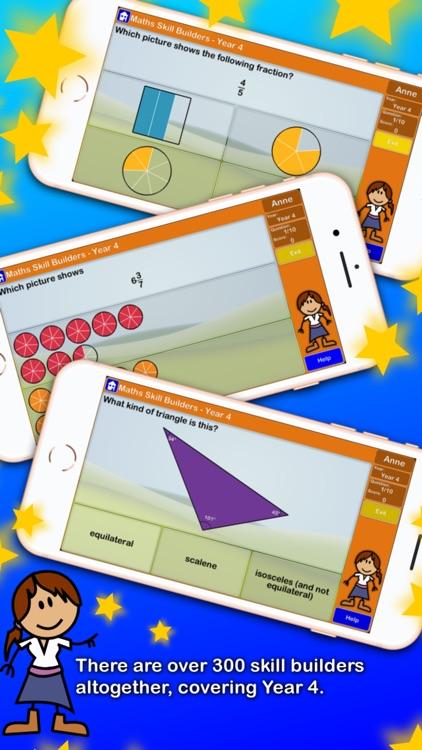 Maths Skill Builders Year 4 AU screenshot-3