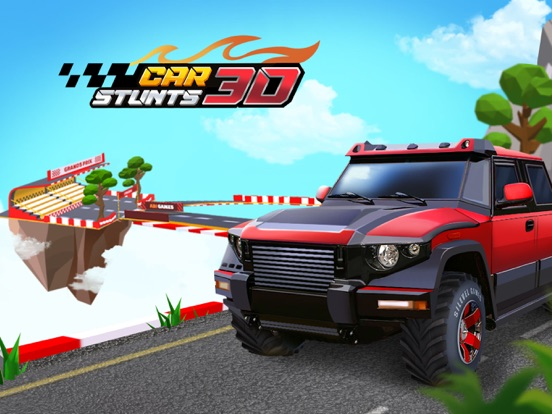 Car Stunts 3D - Sky Parkour screenshot 7