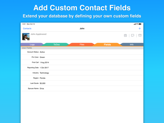 Screenshot #6 pour Contacts Journal CRM
