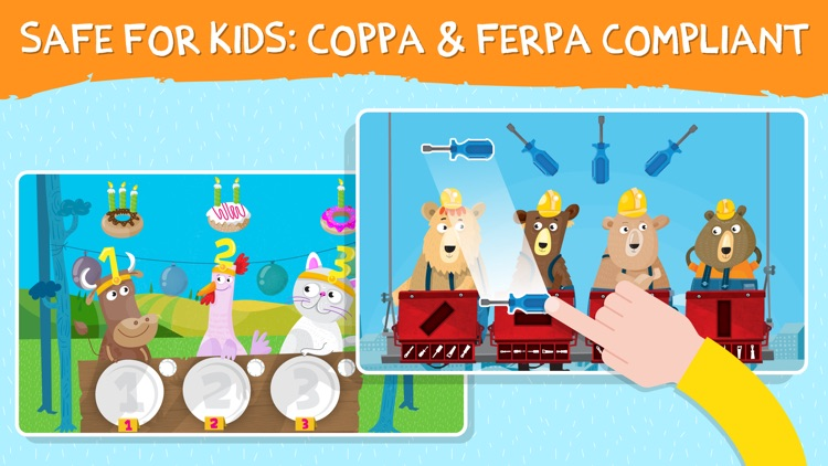 Toddler Games:learning puzzles screenshot-9