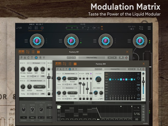 Factory - Modular Synthesizer screenshot 5