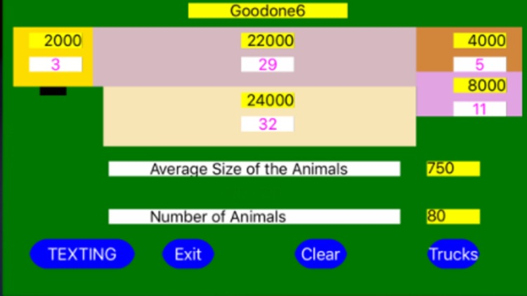 Livestock Truck Allocation screenshot-3