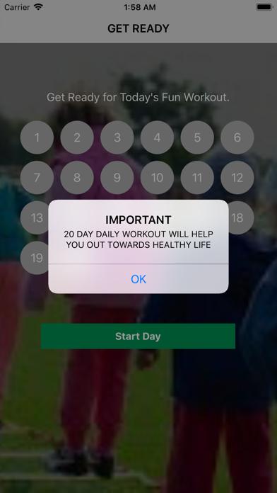 Daily Fun Workout screenshot 1