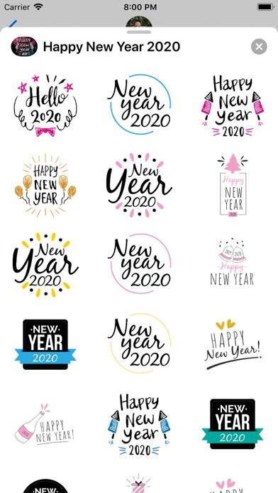 Hello 2020! Happy New Year! screenshot 2