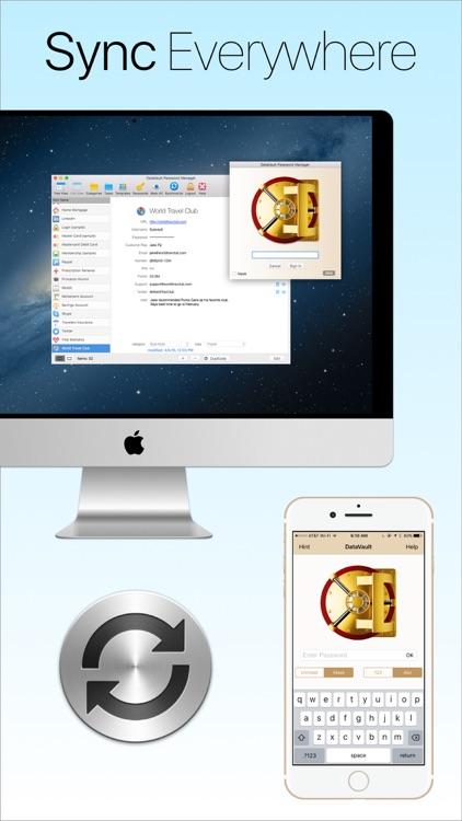 Password Manager Data Vault screenshot-3
