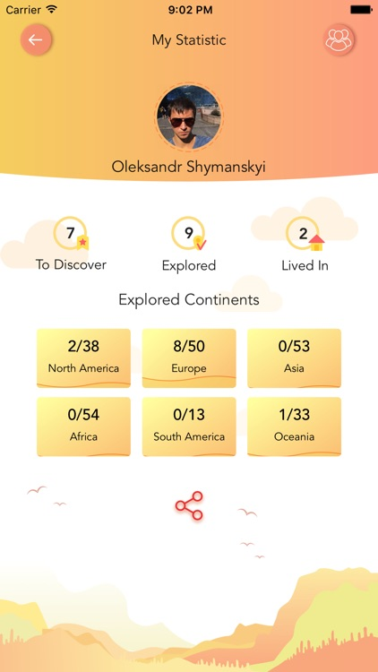 ScratchMap: record your trips