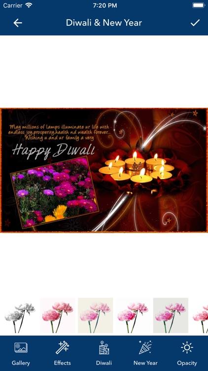 Diwali & New Year Pip Frames screenshot-5