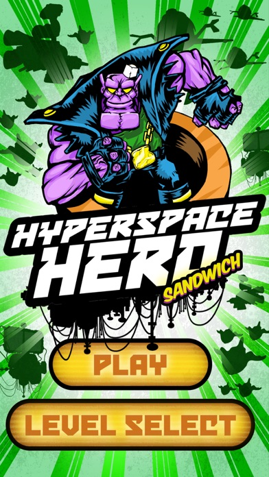 Hyperspace Hero (Sandwich) Screenshot 1