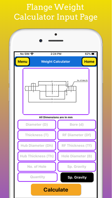 Fabrication Weight Calc Pro screenshot 9