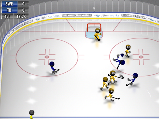 Stickman Ice Hockey screenshot