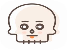 Skull Stickers Pack