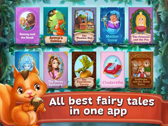 Fairy Tales ~ 3D Interactive Pop-up Books ! screenshot