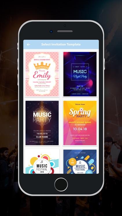 Party Invitation Maker! screenshot-4