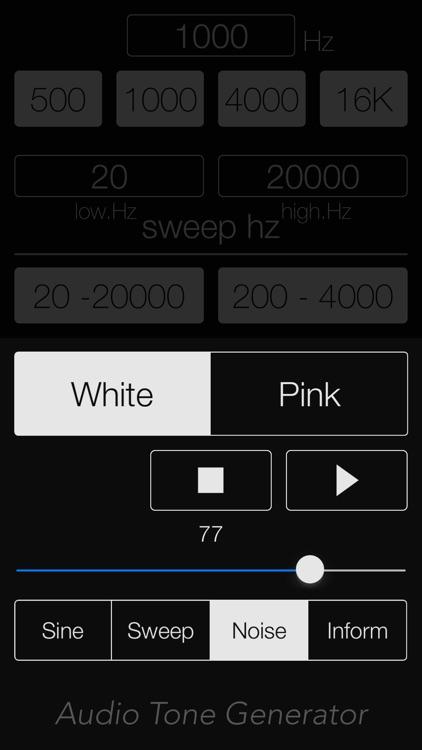 Audio Tone Generator Lite screenshot-4