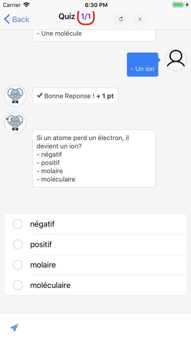 Chimie 3ème screenshot 3