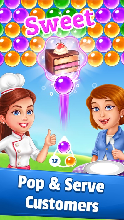 Pastry Pop Blast: Bubble Shoot screenshot-0
