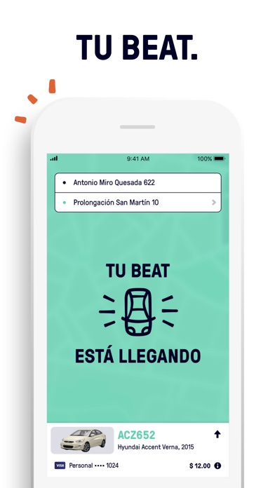 Screenshot for Beat - Ride app in Mexico App Store