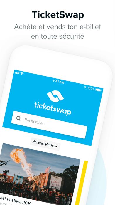 Screenshot #1 pour TicketSwap - Billets en ligne