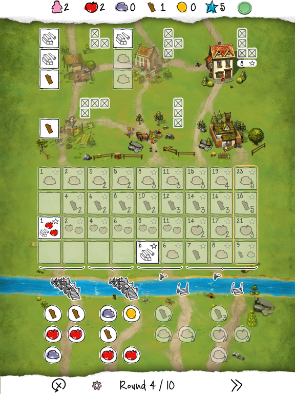 Imperial Settlers Roll & Write для iPad