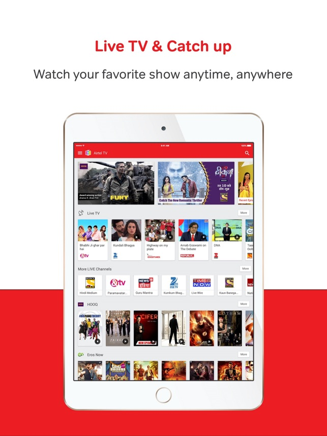 Airtel TV on the App Store