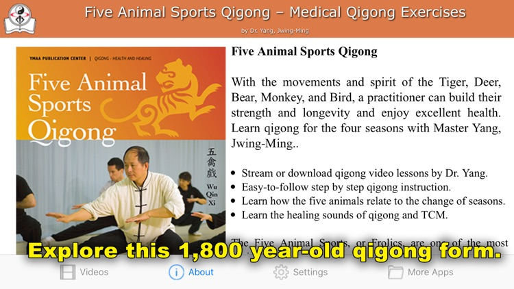Five Animals Qigong (YMAA)