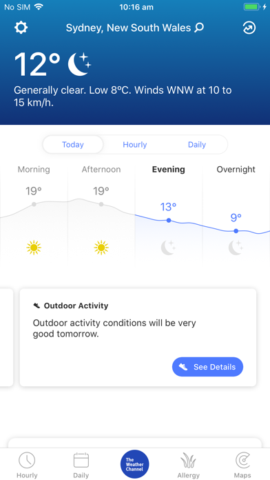 Weather - The Weather Channel screenshot one