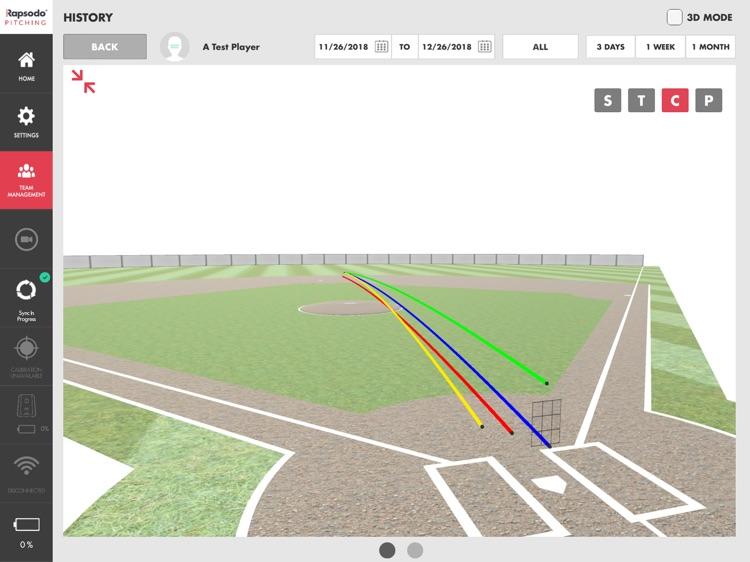 Rapsodo Pitching 2.0 screenshot-3