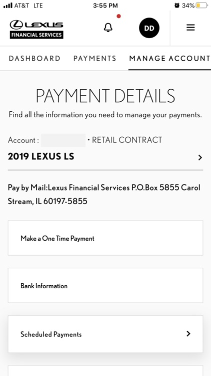myLFS - Lexus Financial screenshot-5